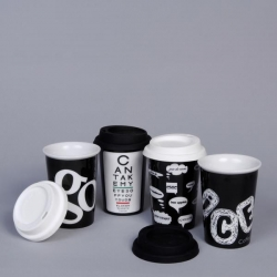 Mugs isotherme White & Black
