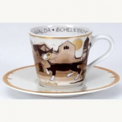 Tasse expresso le chat levant maison rosina watchmeister