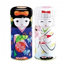Boîte japonaise Geisha à thé 125 g en coffret de 2