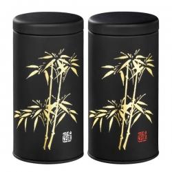 Boîte japonaise  Bambou à thé 100g en coffret de 2