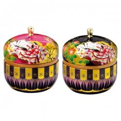 Boîte japonaise Hanami  à thé 100 g en coffret  de 2