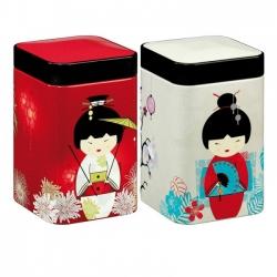 Boîte à thé japonaise  litle Geisha