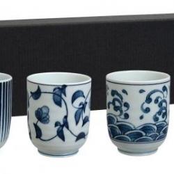 Coffret 4 gobelets japonais