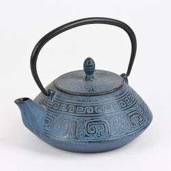Théière en fonte Dragon bleu 1.2 litre