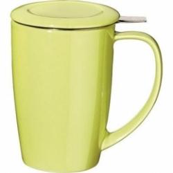 Tisanière Curve vert citron 45 cl