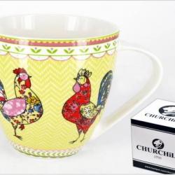 Mug Coq Churchill et sa boîte cadeau