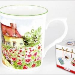 Mug cottage et sa boîte cadeau