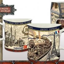 Mug explorateus Paris  sa boîte cadeau