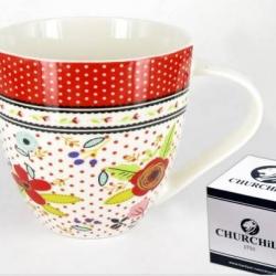Mug Fleurs Churchill et sa boîte  cadeau