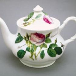 Théière 8 tasses 1,6 litres Redoute fleurs porcelaine anglaise