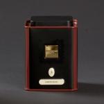 Boîte jardin bleu thé noir parfumé sélection au manoir des arômes