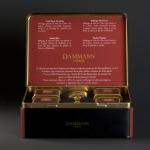 Coffret 1925 Dammann frères, sélection au manoir des arômes