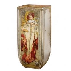 Grand vase les 4 saisons Alphonse Mucha