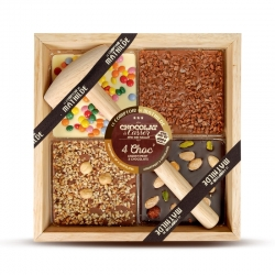 Les quatre Chocs au 3 chocolats