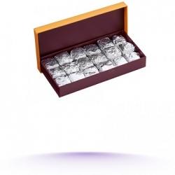 Coffret de 18 nougastelles ouvert