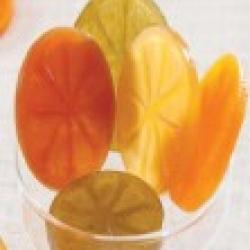 Tranches de fruits confits  Noël Cruzilles
