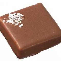 Ganache chocolat au ;ait noix de coco