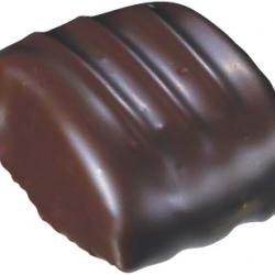 Ganache chocolat noir à la crème de marron