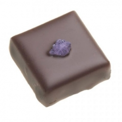 Ganache noir à la violette
