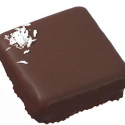 Ganache chocolat noir noix de coco
