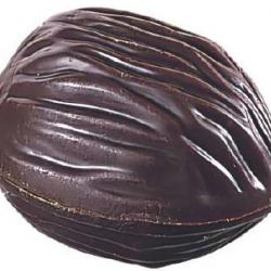 Noix praliné  chocolat noir