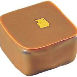 Palet or : Ganache chocolat au lait