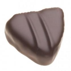 Le trianon : Petit coeur praliné chocolat noir