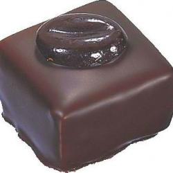 Praliné au chocolat noir café