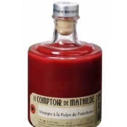 Vinaigre à la pulpe de Framboise : Comptoir de Mathilde