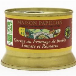 Terrine au fromage de Brebis Tomate et Romarin