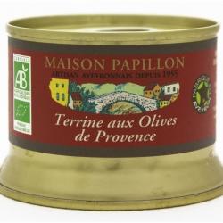Terrine aux olives noires Bio