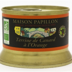 Terrine de canard à l'orange Bio