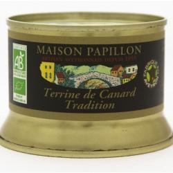Terrine de canard Tradition Bio