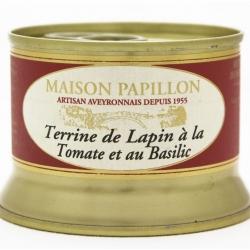 Terrine de Lapin Tomate et Basilic