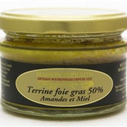 Terrine au foie gras Amande et Miel