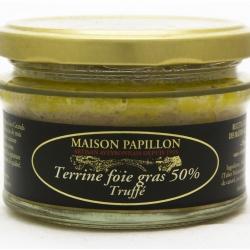 Terrine au foie gras et Truffe