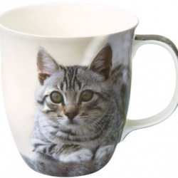 Mug en porcelaine cuddly cat