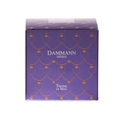Boîte 25 sachets cristal rooibos de Nöel DAMMANN FRERES
