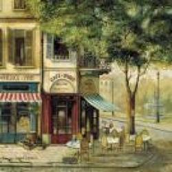 Dessous de Verre Scènes parisiennes