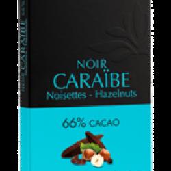 Chocolat Caraïbe aux noisettes