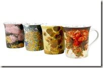 mug fleurs impressionniste KONITZ selection du manoir des aromes