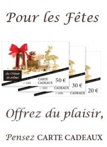 Bons Cadeaux Manoir