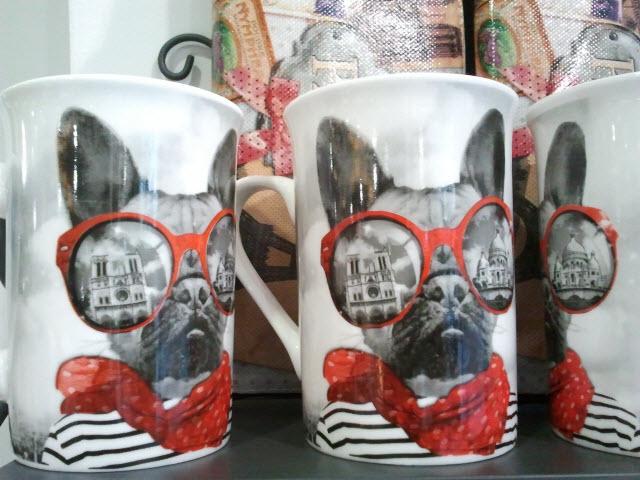 Mug chien Paris