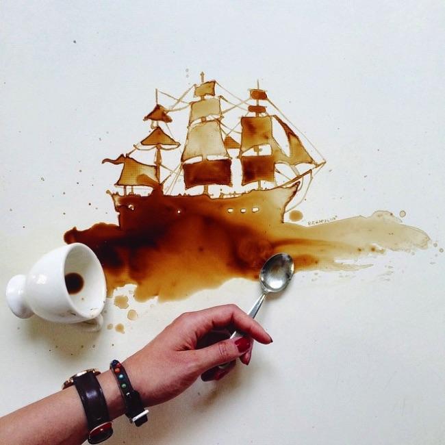 Les Taches de Cafe de Giulia Bernardelli